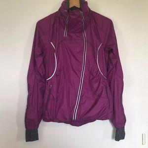 Women's magenta Lululemon jacket size 6